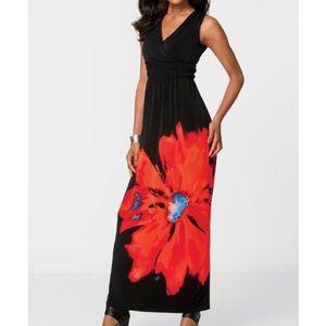 Nina Leonard maxi dress XL